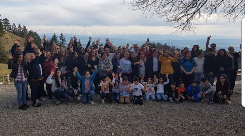 İsviçre Alpleri Davul Zurnayla Tanıştı